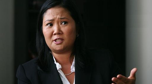 Keiko Fujimori se sale del guión.