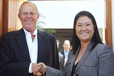 No, esta foto no es actual.  Es del 2011 cuando PPK apoyó a Fujimori.