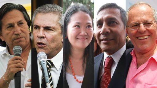 Candidatos Punteros 2011
