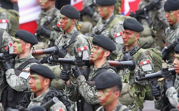 Militares policías y la cultura de la  muerte