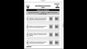 Todo sobre el referéndum