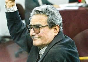 Para los mas jóvenes; Este es Abimael Guzmán, el responsable del asesinato de miles de peruanos inocentes